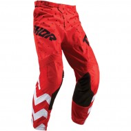 OFFER THOR YOUTH PULSE STUNNER S9Y OFFROAD PANT 2019 RED/WHITE