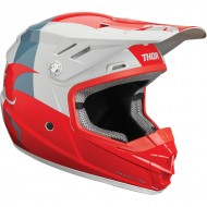 OFFER THOR YOUTH SECTOR SHEAR S9Y OFFROAD HELMET 2019 RED/LIGHT GRAY