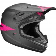 OFFER THOR YOUTH SECTOR HYPE S9Y OFFROAD HELMET 2019 CHARCOAL/PINK