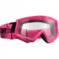 OFFER THOR CONQUER OFFROAD GOGGLES 2019 FLO PINK/BLACK