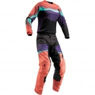 OUTLET COMBO MUJER THOR PULSE DEPTHS S9W OFFROAD 2019 NEGRO / CORAL