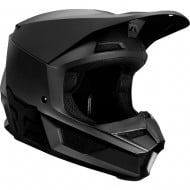 FOX YOUTH V1 MATTE HELMET COLOR BLACK