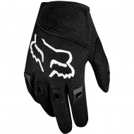 FOX KIDS (4-5 YEARS) DIRTPAW GLOVES BLACK COLOUR