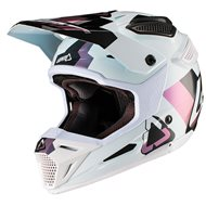 CASCO LEATT GPX 5.5 V19.2 2019 COLOR BLANCO / NEGRO