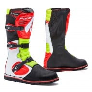 OFFER BOOTS FORMA TRIAL/TRAIL BOULDER WHITE / RED / FLUO COLOR