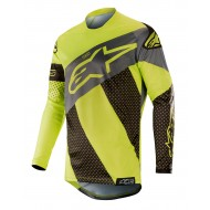 ALPINESTARS RACER TECH ATOMIC JERSEY 2019 COLOR BLACK / YELLOW FLUO / GRAY