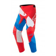 OFFER YOUTH ALIPINESTARS RACER VENOM PANTS 2019 COLOR RED / WHITE / BLUE