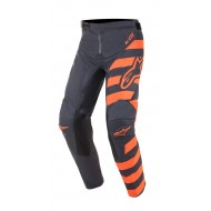 OFFER YOUTH ALPINESTARS RACER BRAAP PANTS COLOR ANTHRACITE / ORANGE FLUO