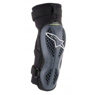 ALPINESTARS SEQUENCE KNEE PROTECTOR 2021 COLOR ANTHRACITE / YELLOW FLUO