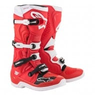 OFFER ALPINESTARS TECH 5 BOOTS 2020 RED / WHITE COLOUR