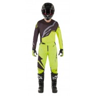 OFFER COMBO ALPINESTARS TECHSTAR FACTORY 2019 COLOR BLACK / YELLOW FLUO