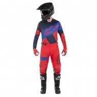 OFFER COMBO ALPINESTARS RACER TECH ATOMIC 2019 COLOR RED / DARK NAVY / BLUE