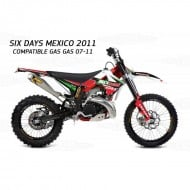 KIT COMPLETO ADHESIVOS GAS GAS SIX DAYS MEXICO 2011 (COMPATIBLE CON GAS GAS 2007-2011)