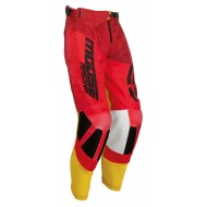 OFFER MOOSE M1 PANTS COLOR RED / YELLOW