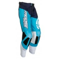 OFFER MOOSE M1 PANTS COLOR BLUE / WHITE
