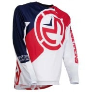MOOSE YOUTH JERSEY 2019 COLOR RED / WHITE / BLUE