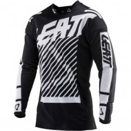 OUTLET CAMISETA LEATT GPX 2.5 INFANTIL BLANCO/NEGRO