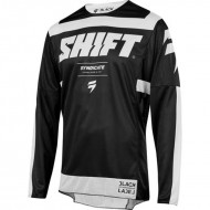 SHIFT JERSEY 3LACK STRIKE 2019 COLOR BLACK / WHITE