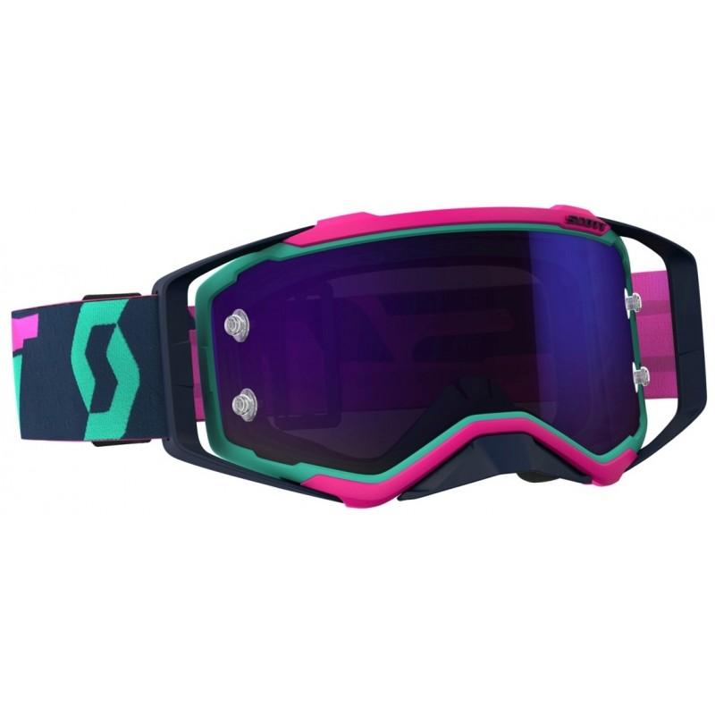0923d4c976 Scott Prospect Goggle 2019 Color Teal / Pink - Purple Chrome Works Lens