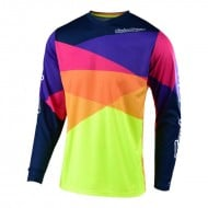 CAMISETA INFANTIL TROY LEE GP JET AMARILLO/ROJO
