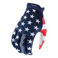 OUTLET GUANTES TROY LEE AIR AMERICA AZUL/ROJO