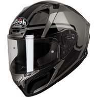 CASCO AIROH VALOR MARSHALL 2019 COLOR GRIS BRILLANTE
