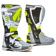 OFFER GREY/WHITE/YELLOW FLUO FORMA BOOTS PREDATOR 2.0 WITH SMALL DEFECT - SIZE 49