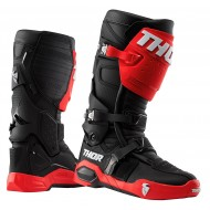 THOR RADIAL MX BOOTS RED / BLACK COLOUR