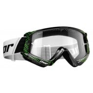 THOR YOUTH COMBAT CAP GOGGLES 2020 BLACK / LIME COLOUR