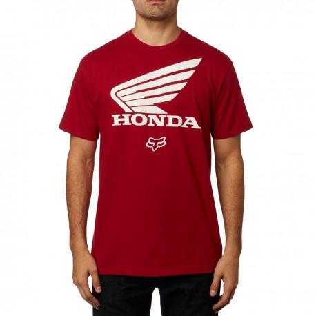Honda Camiseta Color Blanco Camiseta Fox Fox 7tRwqRSf 3908ee56498