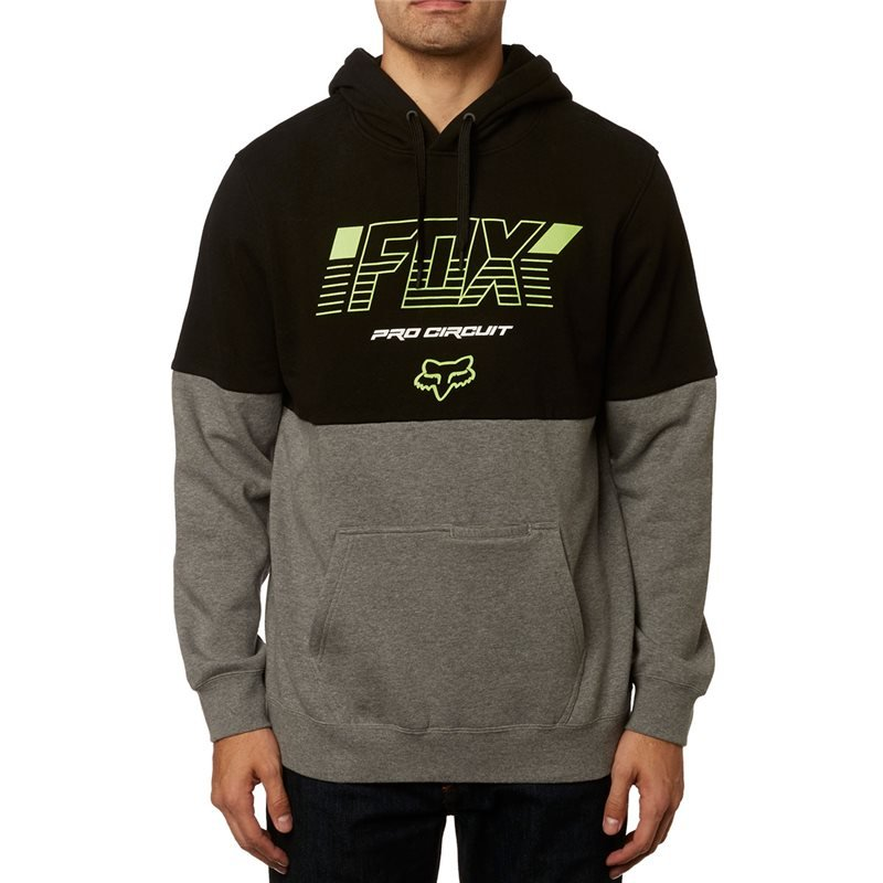 FOX PRO CIRCUIT PO FLEECE BLACK/GRAPHITE COLOUR 23048-459 -  MotocrossCenter com