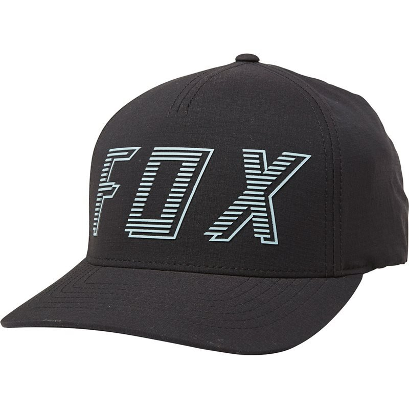 newest 6cb3c f8a32 Offer Fox Barred Flexfit Hat Black Colour S-m