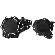 ACERBIS IGNITION + CLUTCH COVER PROTECTOR BLACK KTM EXC 250/300 (2017-2019)