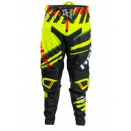 OUTLET PANTALON HEBO ENDURO MOTOCROSS COLOR AMARILLO FLUOR