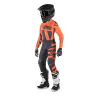 OFFER YOUTH COMBO ALPINESTARS RACER VENOM 2019 RED / WHITE / BLUE COLOUR - SIZE 28 USA / XL INF