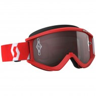 OFFER SCOTT RECOIL XI RED/WHITE COLOUR - SILVER CHROME WORKS LENS