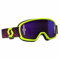 OFFER GAFAS BUZZ MX PRO YELLOW/PINK PUR CHRO WKS