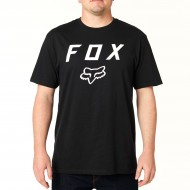 FOX LEGACY MOTH SHORT SLEEVE TEE BLACK COLOUR