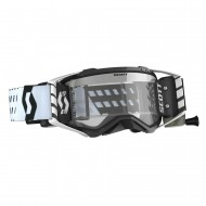 SCOTT PROSPECT WFS GOGGLE 2020 COLOR BLACK/WHITE - CLEAR WORKS LENS