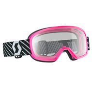 OFFER SCOTT YOUTH BUZZ MX GOGGLE 2019 COLOR PINK - CLEAR LENS