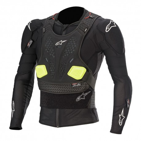 PETO ALPINESTARS BIONIC ACTION COLOR NEGRO
