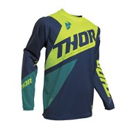 THOR SECTOR BLADE JERSEY 2020 CHARCOAL / RED COLOUR