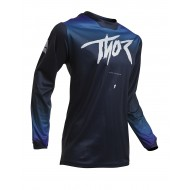 THOR WOMEN PULSE FADER JERSEY 2020 MIDNIGHT COLOUR