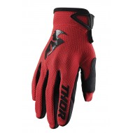 THOR SECTOR GLOVES 2020 RED COLOUR