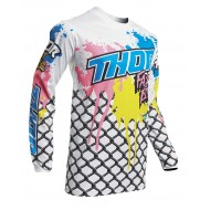 THOR YOUTH PULSE FAST BOYZ JERSEY 2020 WHITE COLOUR