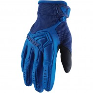 THOR YOUTH SPECTRUM GLOVES BLUE COLOUR