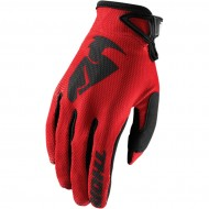 THOR YOUTH SECTOR GLOVES 2020 RED COLOUR