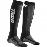 THOR YOUTH MX COOL SOCK BLACK / CHARCOAL COLOUR - ONE SIZE