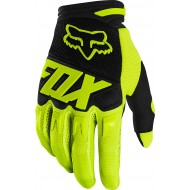 GUANTES FOX DIRTPAW RACE 2020 COLOR AMARILLO FLUOR