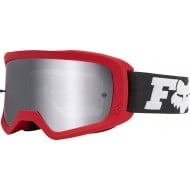 FOX YOUTH MAIN II LINC GOGGLE 2020 FLAME RED COLOUR - MIRROR SPARK LENS